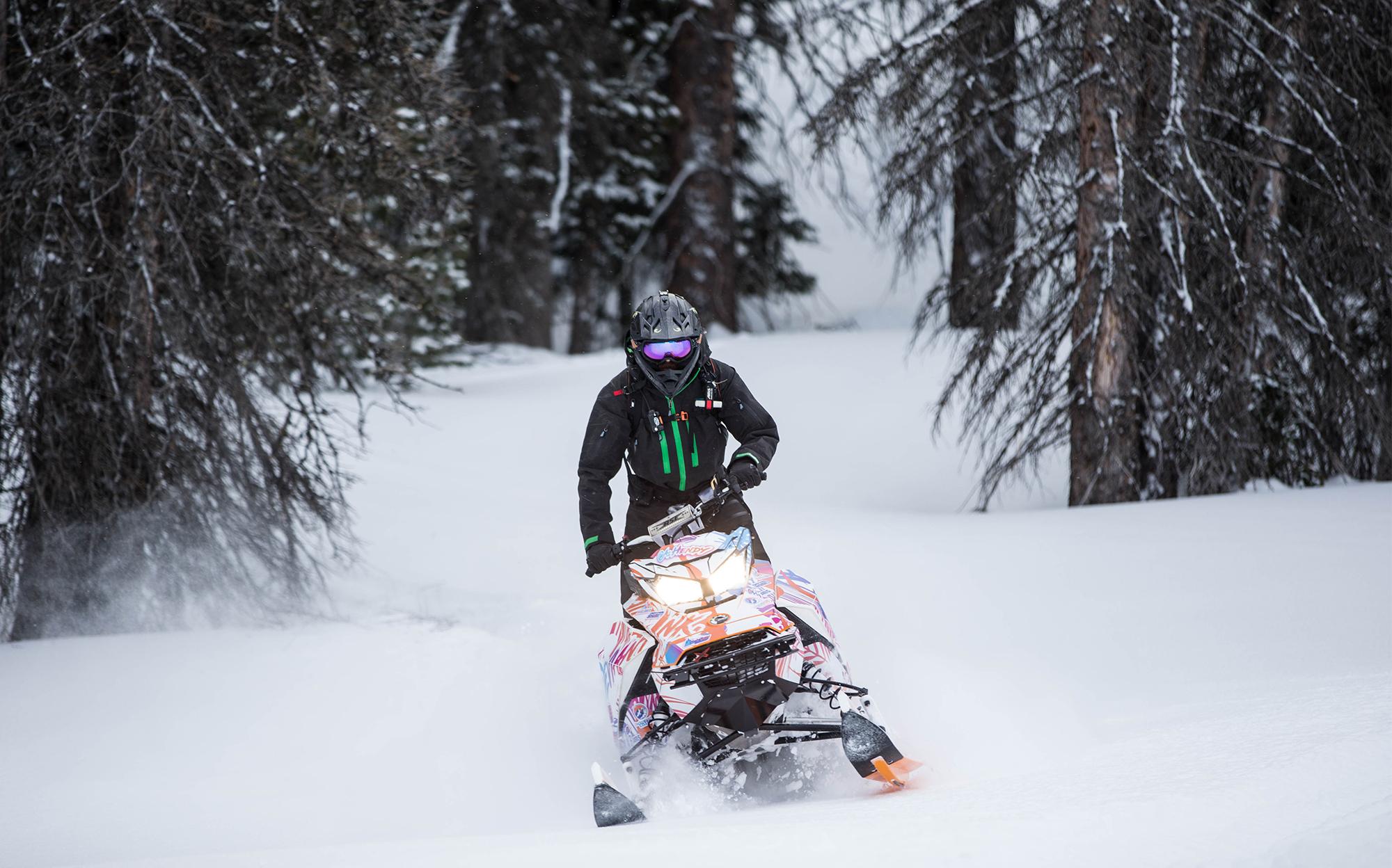 Alex Hendy Snowmobiling