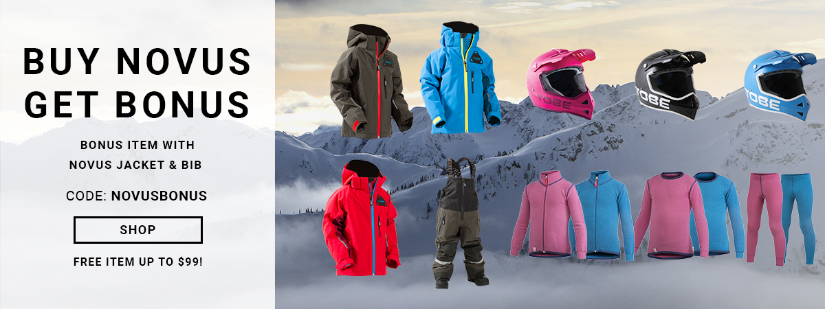 Shop and save on kids winter gear with the Novus Bonus offer